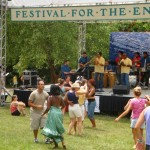 GarDel on the Meadow Stage at the 2009 Festival for the Eno